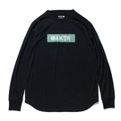 AKTR【INDUSTRY LOGO】L/S SPORTS TEE BLACK