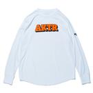 AKTR【BOOTLEG 3D LOGO】L/S SPORTS TEE WHITE