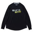 AKTR【BOOTLEG】L/S SPORTS TEE BLACK