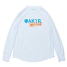 AKTR【BOOTLEG】L/S SPORTS TEE WHITE