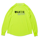 AKTR【BOOTLEG】L/S SPORTS TEE YELLOW