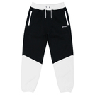ballaholic【2TONE Zip Sweat Pants】black/white