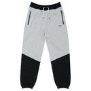 ballaholic【2TONE Zip Sweat Pants】gray/black