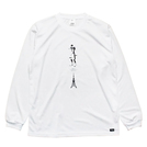 Mewship50【TOWER OF #T】L/S PL WH×BK
