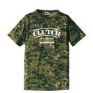 BBオリジナル【CLUTCH】GREEN CAMOTシャツ