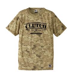 BBオリジナル【CLUTCH】SAND CAMOTシャツ