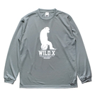 Mewship50【WILD.X】L/S PL (GY×WH)