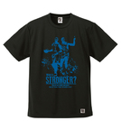 BBオリジナル【STRONGER -M&P-】Tシャツ BK×BL