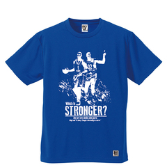 BBオリジナル【STRONGER -M&P-】Tシャツ BL×WH