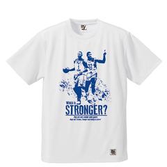 BBオリジナル【STRONGER -M&P-】Tシャツ WH×BL
