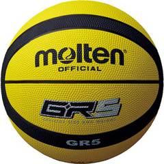 モルテン ゴムバスケットボール【BGR5-YK】