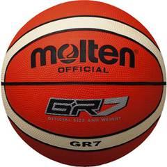 モルテン ゴムバスケットボール【BGR7-OI】
