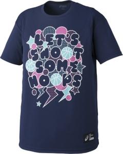 アシックス  プリントTシャツHS【XB6610 49A】