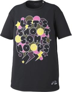 アシックス  プリントTシャツHS【XB6610 90A】