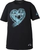 アシックス  プリントTシャツHS【XB6610 90B】