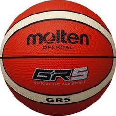 モルテン ゴムバスケットボール【BGR5-OI】