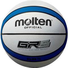 モルテン ゴムバスケットボール【BGR5-WB】