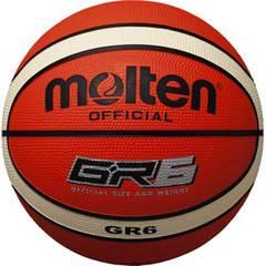 モルテン ゴムバスケットボール【BGR6OI】