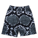 BB ORIGINAL【SNAKE】SHORTS BK×WH