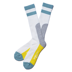 FUTURE SOCKS WHITExBLUEGREEN