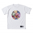 スポルディング Tシャツ BALL PRINT【SMT170120】