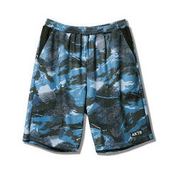 AKTR BOUNCE CAMO SHORTS BLUE