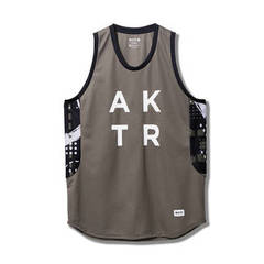 AKTR ABSTRACT TANK(GRAY)