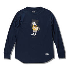 AKTR NICK BE SHY L/S TEE