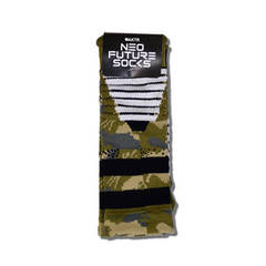 NEO FUTURE SOCKS CAMO GREEN