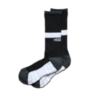 Mewship50【TWO WAY crew socks】(BK×WH)