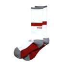Mewship50【TWO WAY crew socks】(WH×RRD)