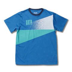 CUTTING GLOW MESH TEE(BLUE)