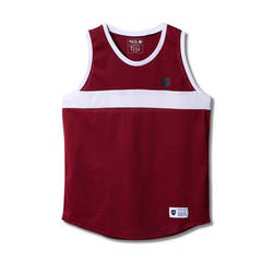 BOOTLEG COMBINATION TANK BURGUNDY