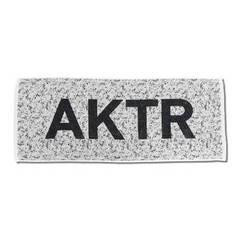 AKTR SPORTS TOWEL WHITE