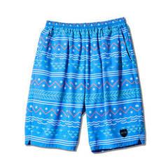 AKTR ISLAND BORDER18 SHORTS BLUE