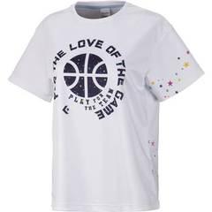 コンバース ウィメンズプリントTシャツ【CB382302 1129】