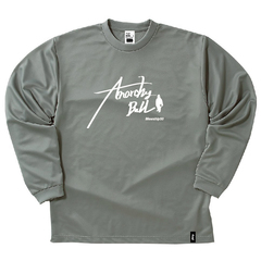Mewship50【AnarckyBall】L/S PL (GY×WH)