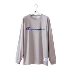 チャンピオン DRYSAVER L/S Tシャツ【C3-NB450 070】