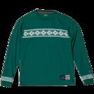 SPALDING L/S Tシャツ NORDIC【SMT181200 GN】