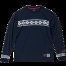 SPALDING L/S Tシャツ NORDIC【SMT181200 NV】