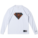 SPALDING L/S Tシャツ SUPERMAN TEXTART