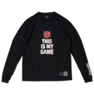 SPALDING L/S Tシャツ BATMAN DARK KNIGHT【SMT181310 BK】