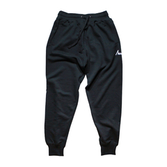 Mewship50【BASIC LOGO】light sweat pants (BK×WH)