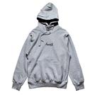 Mewship50【BASIC LOGO】pullover (GY×BK)