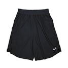 Mewship50【LOGO street shorts】(BK×BK×WH)