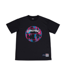 SPALDING Tシャツ マーブル【SMT190200 BK×PK】