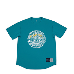 SPALDING Tシャツ ポリネシアンボール【SMT190250 TUR】
