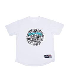 SPALDING Tシャツ ポリネシアンボール【SMT190250 WH】