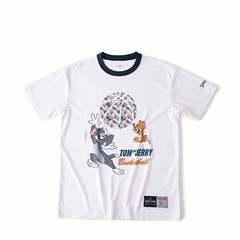 SPALDING Tシャツ トム&ジェリーボール【SMT190600 WH】