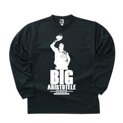 BBオリジナル【BIG ARISTOTELE】ロンT BK×WH
